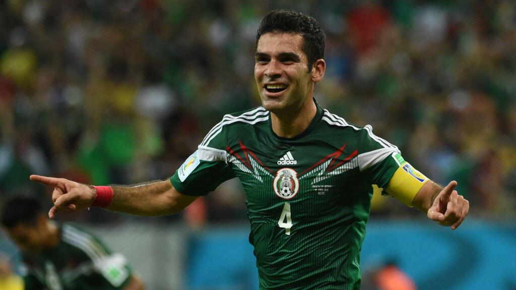 Le capitaine historique de la sélection mexicaine de football Rafael Marquez.