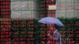 Les Bourses chinoises ont perdu près de 30 % de leur valeur depuis mi-juin.