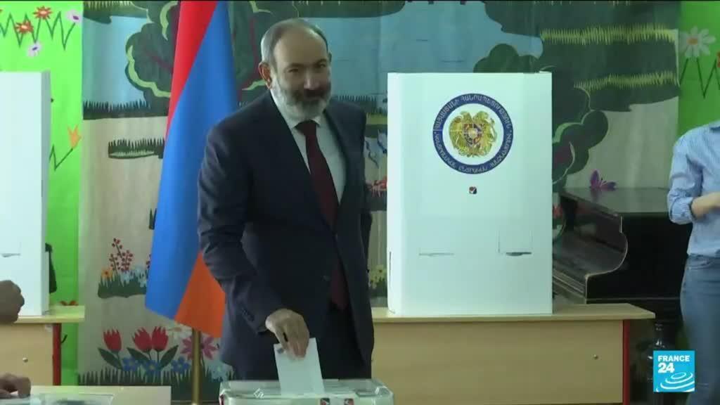 2021-06-20 17:01 Législatives en Arménie : scrutin anticipé et indécis sur fond de défaite militaire