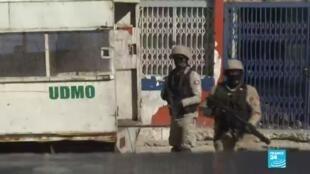2021-02-11 13:39 Haití: Policía reprimió las manifestaciones y agredió a la prensa