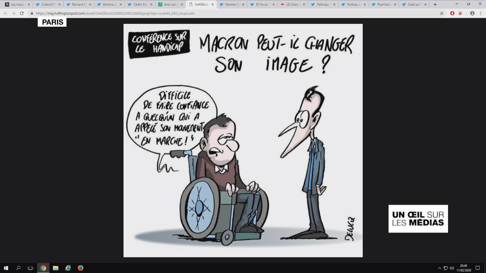 """Conférence sur le handicap : Emmanuel Macron taxé de vouloir se racheter un peu d'""""humanité"""""""