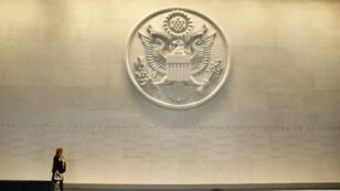 Au siège du département d'État, à Washington.