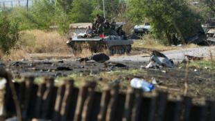 Des bombardements ont été entendus jeudi soir à Donetsk.