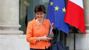 Sylvie Goulard, exministra de Defensa de Francia, es la candidata del presidente Macron para ser comisaria europea. Foto archivo Mayo 31 de 2017.