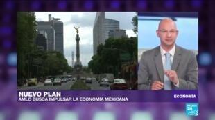 López Obrados busca reactivar la economía mexicana con la puesta en marcha del plan de infraestructura