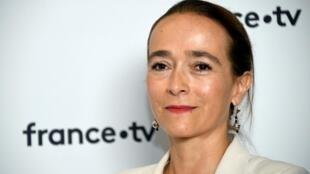 Delphine Ernotte  le 23 août 2018 au siège de France Télévisions à Paris