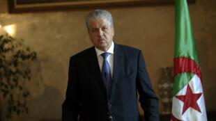رئيس الحكومة الجزائرية السابق عبد المالك سلال.