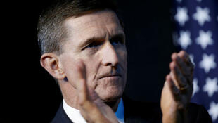 File photo of former US national security adviser Michael Flynn