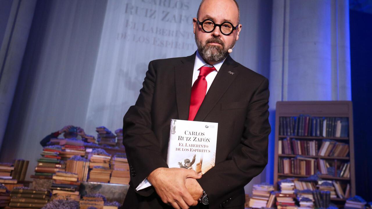 Shadow of the Wind' author Carlos Ruiz Zafon dies at 55
