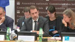 Le ministre de l'Intérieur Christophe Castaner à l'Assemblée nationale le 8 octobre 2019.