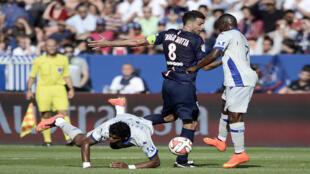 Le coup de tête de Brandao a totalement éclipsé la victoire du PSG sur Bastia (2-0).