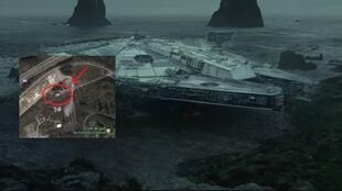 """Le Faucon Millenium dans le dernier trailer de l'épisode 8 """"Star Wars : Les Derniers Jedi""""."""