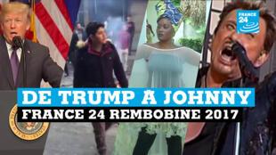 France 24 revisite l'année 2017 en images.