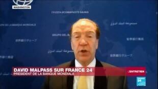 """2020-04-16 18:10 David Malpass sur France 24 : Le monde pourrait vivre """"sa pire récession depuis 1929"""""""