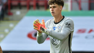 Chelsea goalkeeper Kepa Arrizabalaga was dropped for the crucial Wolves clash
