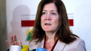 سفيرة الولايات المتحدة في لبنان دوروثي شيا