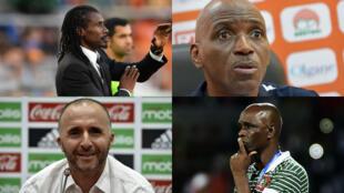 Aliou Cissé, Ibrahim Kamara, Djamel Belmadi et Baciro Candé coacheront à la CAN-2019