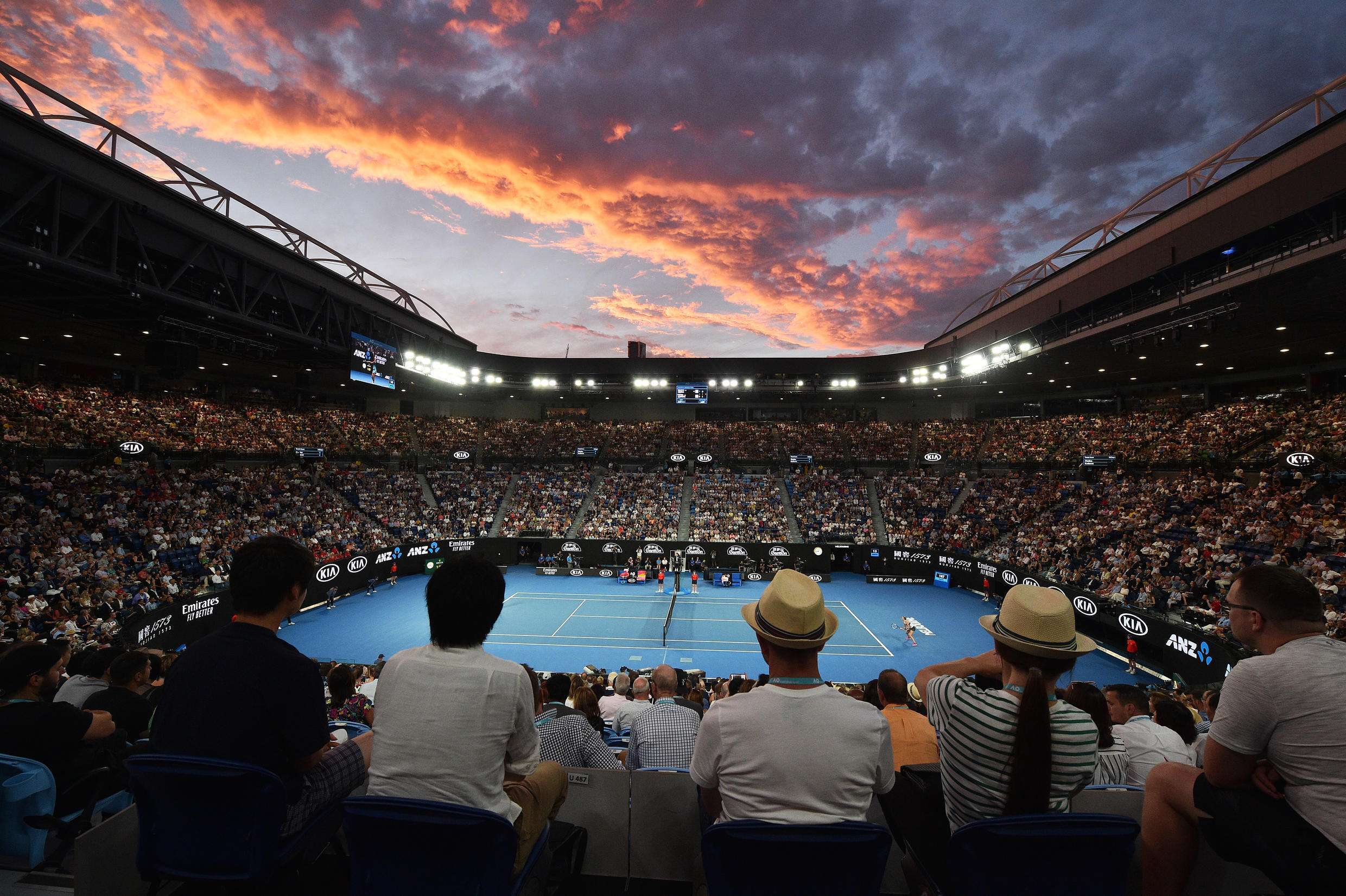 Up to 30,000 fans will be allowed to watch the Australian Open daily
