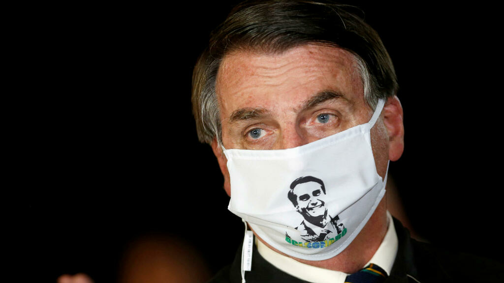 Brazil's President Bolsonaro tests positive for coronavirus