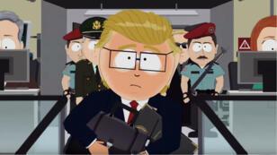 """La réalité aux États-Unis a dépassé la satire d'après les créateurs de """"South Park""""."""