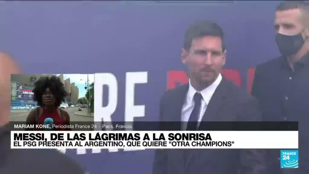 2021-08-11 19:07 Informe desde París: Messi buscará hacerse con la Champions al lado del PSG