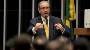 Lundi 12 septembre, Eduardo Cunha a lui-même assuré sa défense devant l'Assemblée nationale.