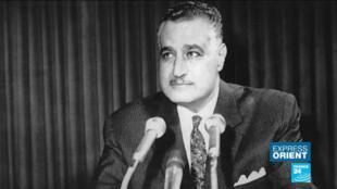 L'ancien président égyptien Gamal Abdel Nasser