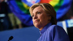 Hillary Clinton lors d'un discours prononcé le 30 octobre 2016, à Wilton Manors, en Floride.