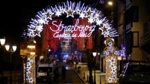 L'attaque de mardi a eu lieu à proximité du célèbre marché de Noël de Strasbourg.