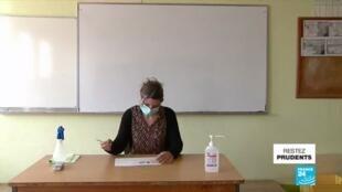 """2020-05-18 11:04 Covid-19 en France : retour au collège très calibré dans les """"zones vertes"""" de l'épidémie"""