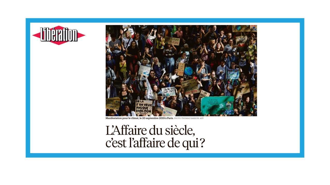 """Condamnation de l'Etat français pour """"inaction climatique"""""""