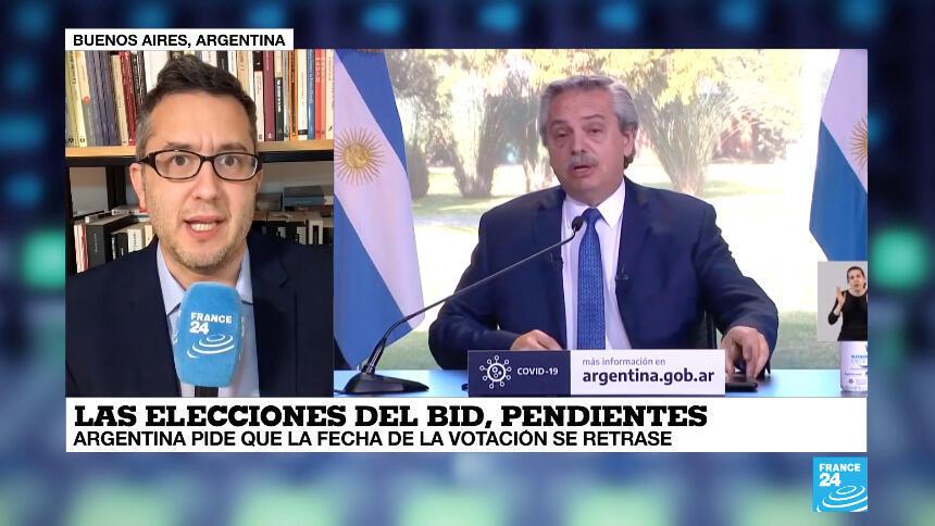Argentina y otros países latinoamericanos defienden el aplazamiento de la elección.