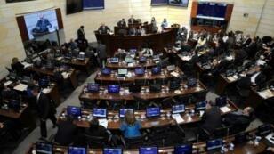 جلسة لمجلس الشيوخ في بوغوتا في 29 تشرين الثاني/نوفمبر 2016