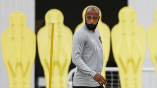 Thierry Henry, désormais adjoint au sein de la sélection belge.