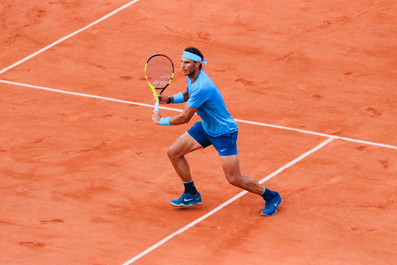 Rafael Nadal, expéditif face à l'Argentin Guido Pella.