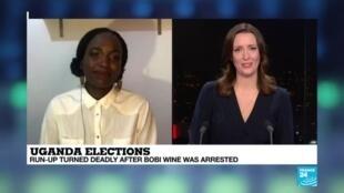 2020-11-23 22:17 Uganda Elections : Run-up turned deadly after Bobi Wine was arrested
