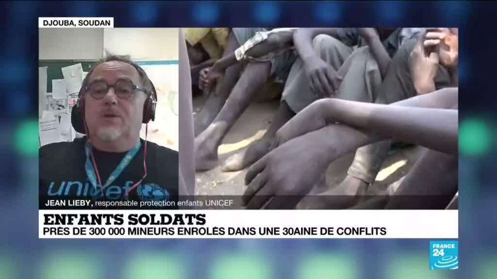 2021-02-12 13:18 Enfants soldats : urgence de mettre fin à l'enrôlement des mineurs