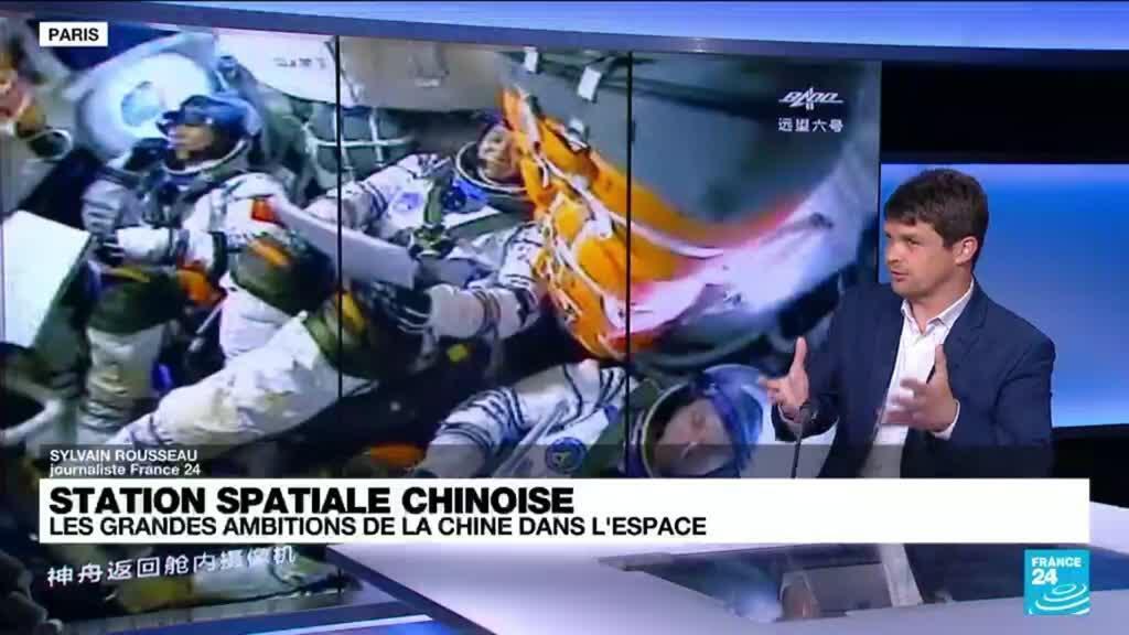 2021-06-17 14:18 Conquête spatiale : quelles sont les ambitions de la Chine dans l'espace ?