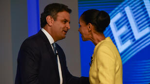 Aecio Neves and Marina Silva
