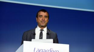 Arnaud Lagardère en mai 2019 à Paris