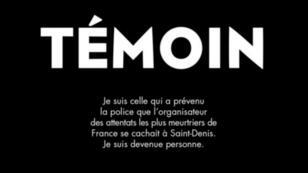 """Claire Andrieux, journaliste à RMC a écrit avec Sonia le livre """"Témoin"""", dans lequel elle retrace son parcours depuis le 16 novembre."""