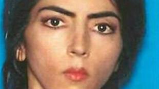 Nasim Aghdam en una foto entregada por el Departamento de Policía de San Bruno el 4 de abril de 2018.