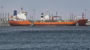 ميناء الفجيرة في خليج الإمارات، 13 مايو/أيار 2019