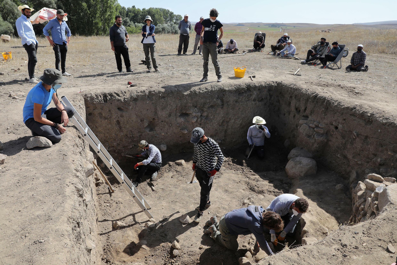 Les archéologues turcs et italiens utilisent des pelles et des pinceaux pour en savoir plus sur le puissant royaume hittite.