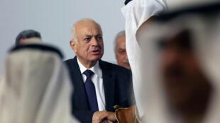 Le chef de la Ligue arabe, Nabil al-Arabi.