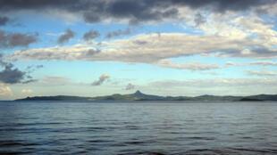 Vue générale des côtes de Mayotte.