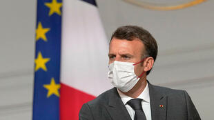 On July 12, 2021, Macron hosted a top-level virus security meeting in the morning followed by a televised speech in the evening.