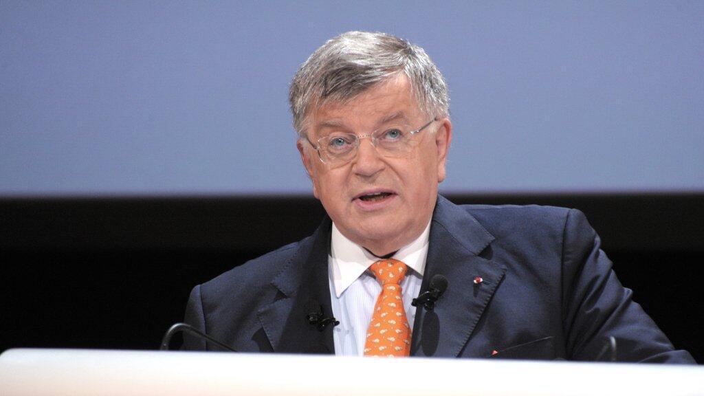 Foto de archivo del expresidente ejecutivo de France Telecom, Didier Lombard.