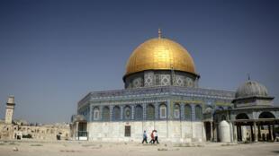 المسجد الأقصى في القدس الشرقية المحتلة