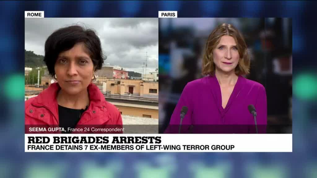 2021-04-28 11:06 France detains ex-members of Red Brigades sought by Italy